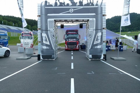 Truck Racing Trophy Volvo Trucks Spielberg
